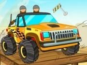 Jocuri cu masini jeep de condus pe platforme