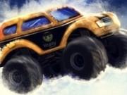Jocuri cu masini monstru pe teren de iarna