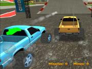 Jocuri cu masini rc 3d in curse cu capcane