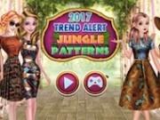 moda modelelor de jungla