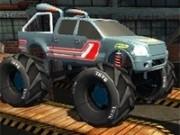 Jocuri cu monster truck 3d de curse nitro cu cascadorii