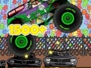 monster truck de zombie cu nitro