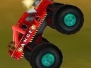 monster truck distrugator 3d