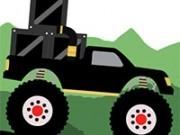 monster truck livrare in padure