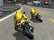 motocicleta 3d de curse pe strada