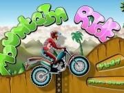 motocicleta de escaladat munti
