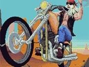 Jocuri cu nebunia motociclistului
