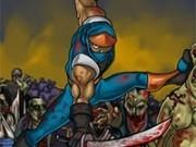 ninja versus zombi