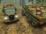 Jocuri cu offroad cu camioane 3d in ploaie