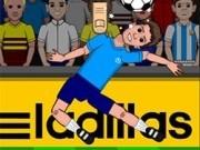 papusile de fotbal cu jonglerii