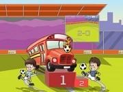 Jocuri cu parcari autobuze la campionatul de fotbal