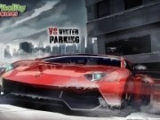 parcari de masini iarna