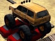 parcat camioane monstru 3d