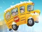parcheaza autobuzul de scoala iarna
