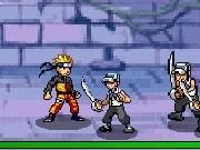 personaje anime in lupta