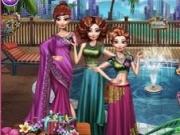 Jocuri cu petrecerea la piscina cu fetele disney