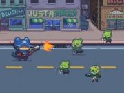 Jocuri cu pistolarul pisica vs zombi