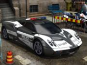 politie parcheaza masini 3d