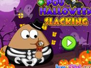 pou jocuri de halloween