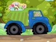 Jocuri cu pou transporta cadouri cu camionul