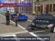prinde infractori cu masina de politie 3d