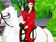 printesa Irina cu cai