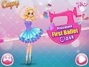 Jocuri cu printesa la primul curs de balet