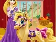 Jocuri cu printesa rapunzel ingrijeste ponei