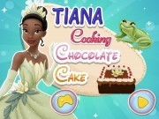 printesa tiana gateste tort de ciocolata