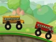 Jocuri cu raliuri cu autobuze de scoala monstru