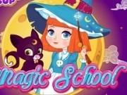 Jocuri cu scoala de magie