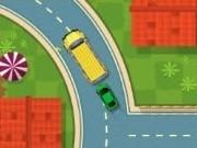 sofer de controlat traficul