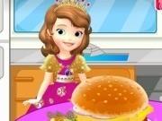 sofia intai gateste hamburger