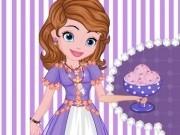 sofia intai gateste inghetata roz