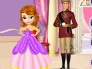sofia la balul regal cu tatal ei