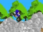 Jocuri cu sonic in curse de motorete cu obstacole
