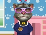 Jocuri cu talking tom la salon de animale