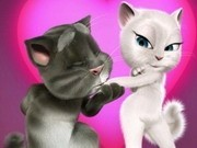 talking tom si angela in vacanta