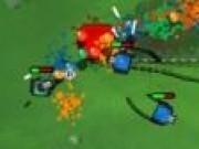 tancuri cu bombe colorate