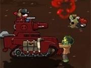 tank de distrus zombie