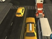 taxi 3d de parcat in oras