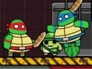 testoasele ninja in misiune de salvare