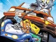 tom si jerry in curse cu masini nos