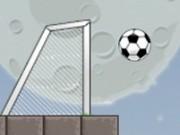 trage la poarta cu mingea