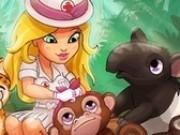 Jocuri cu veterinar la spitalul din jungla