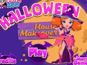 vrajitoarea decoreaza casa halloween
